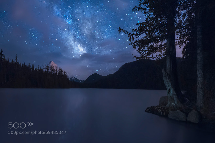 Photograph Painted in the Sky - Lost Lake, Oregon by Dave Morrow on 500px