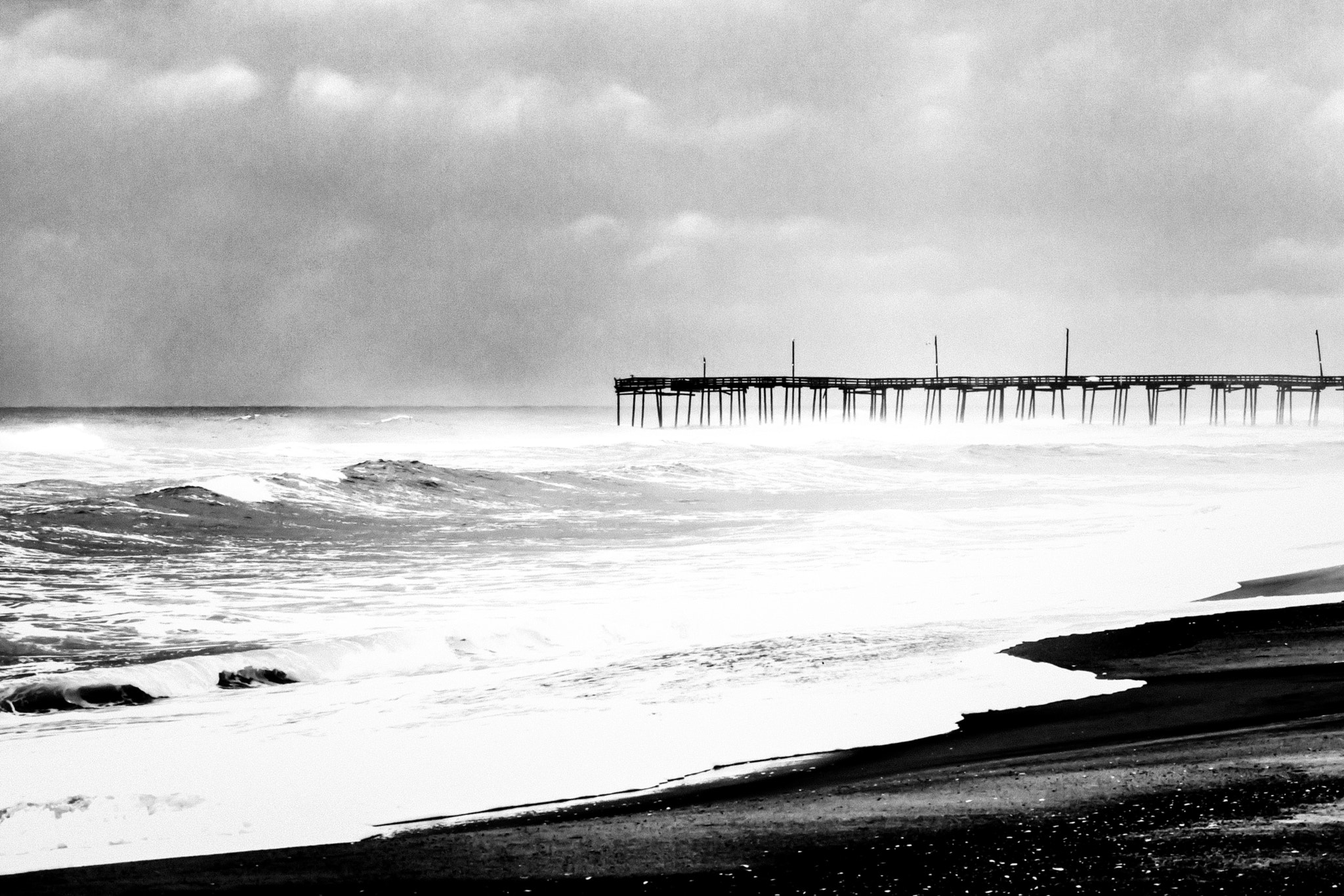 Photograph Rodanthe Pier, NC by Fiona Baxley on 500px