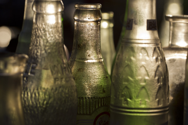 Photograph Old bottles by Bryan Jones on 500px