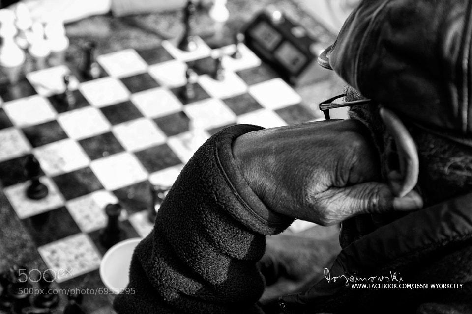 Photograph Chess Player at Washington Square Park by Bobi Dojcinovski on 500px
