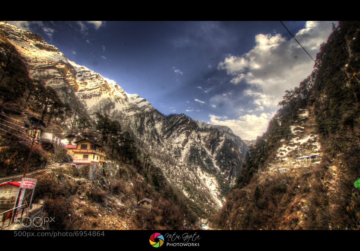Photograph Yamunotri - The Himalayan Range by Nitin Gupta on 500px