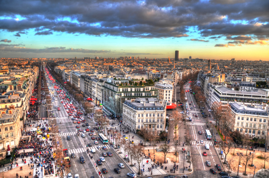 Photograph Champs-Élysées by Mohamed Raouf on 500px