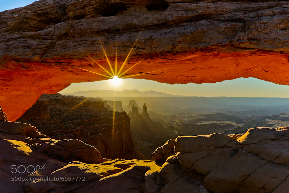 Photograph Mesa Arch - Sunrise by Manish Mamtani on 500px