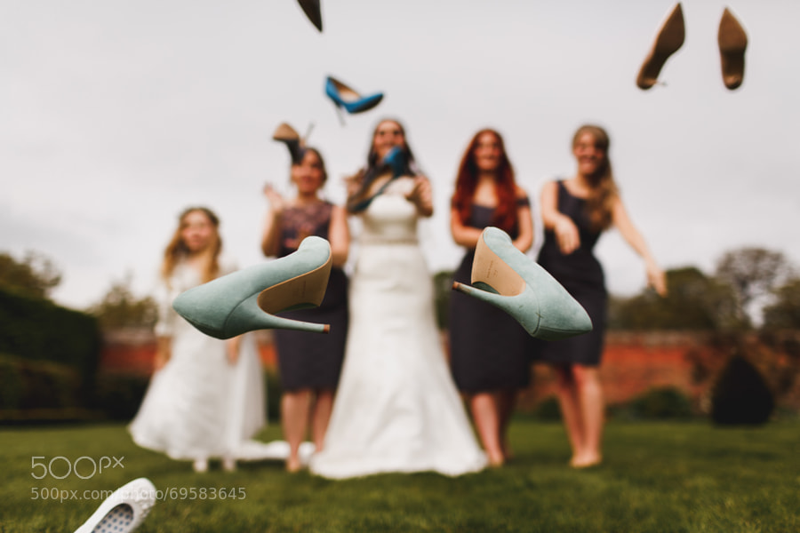 Photograph Wedding Shoes by Adam Johnson on 500px