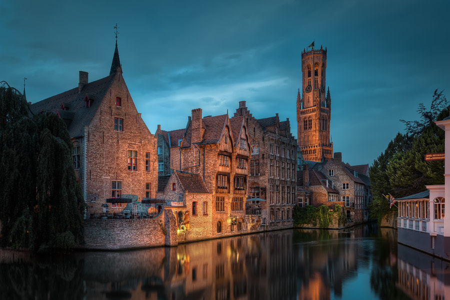 Belgium - Little Venice Corner in Bruge by Jacob Surland on 500px.com