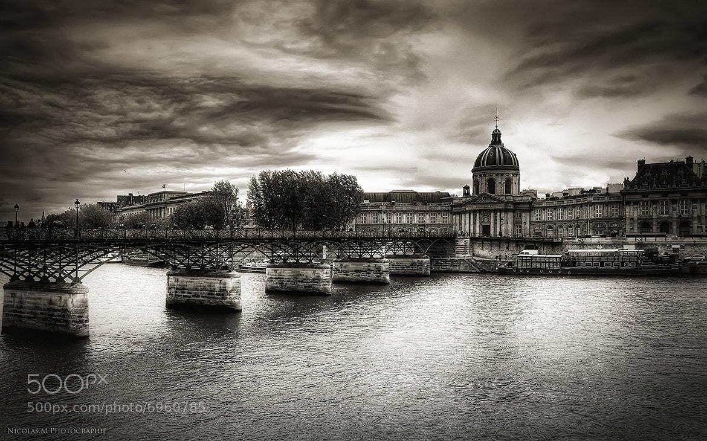 Photograph Pont des arts by Nicolas.M  photographie on 500px