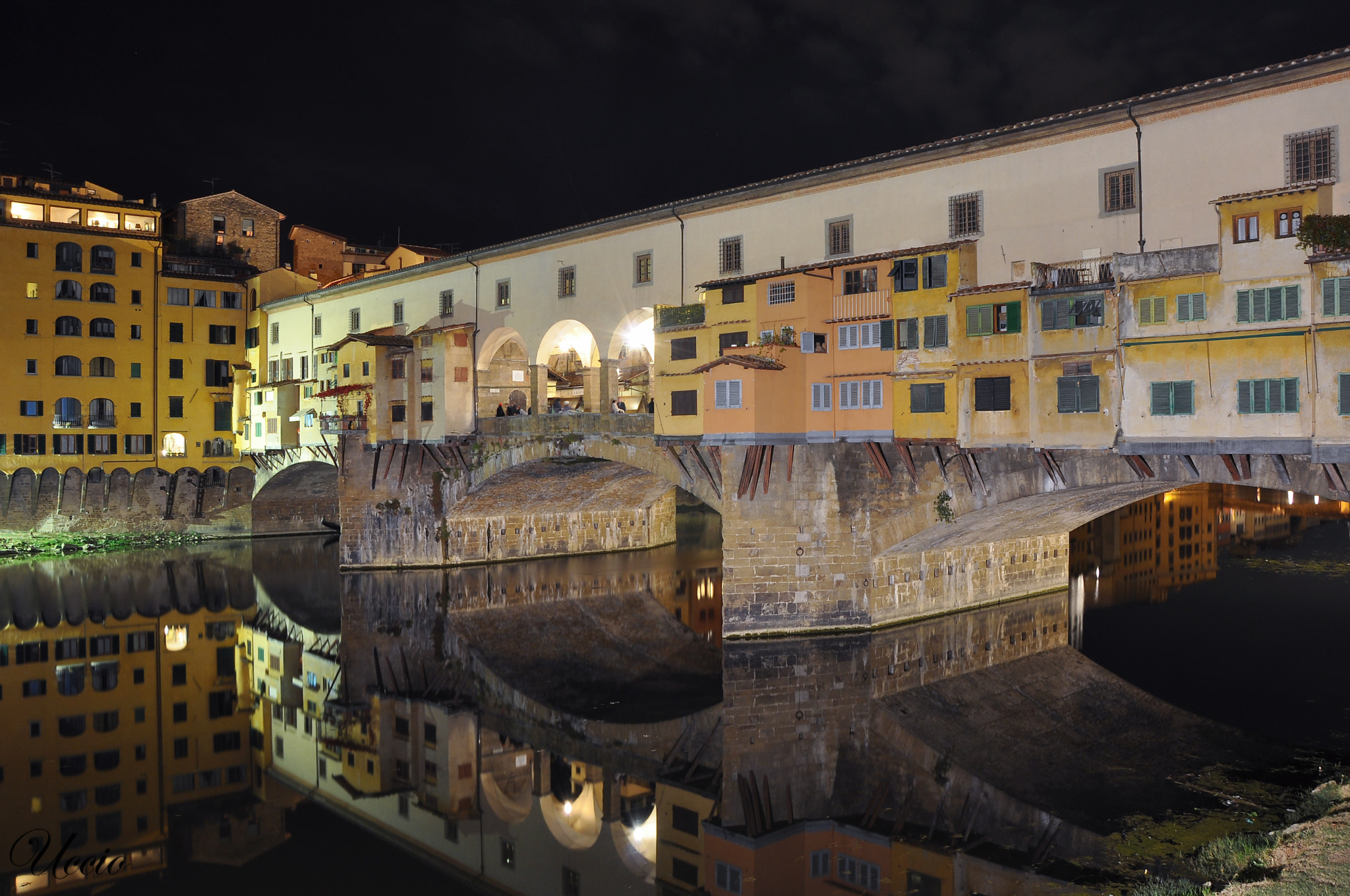 Photograph Reflection on Ponte Vecchio  by Maurizio Panuccio on 500px