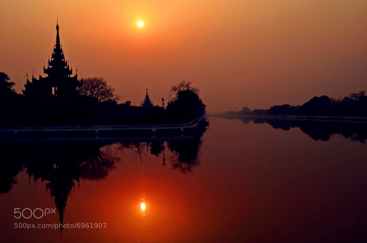 Photograph Mandalay Moat by Myint Mo Oo on 500px