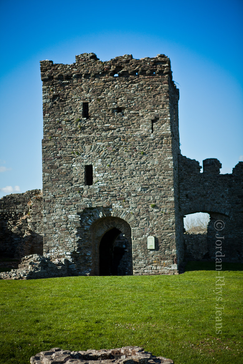 Photograph Inside LLansteffan Castle by Jordan-Rhys Jenkins on 500px