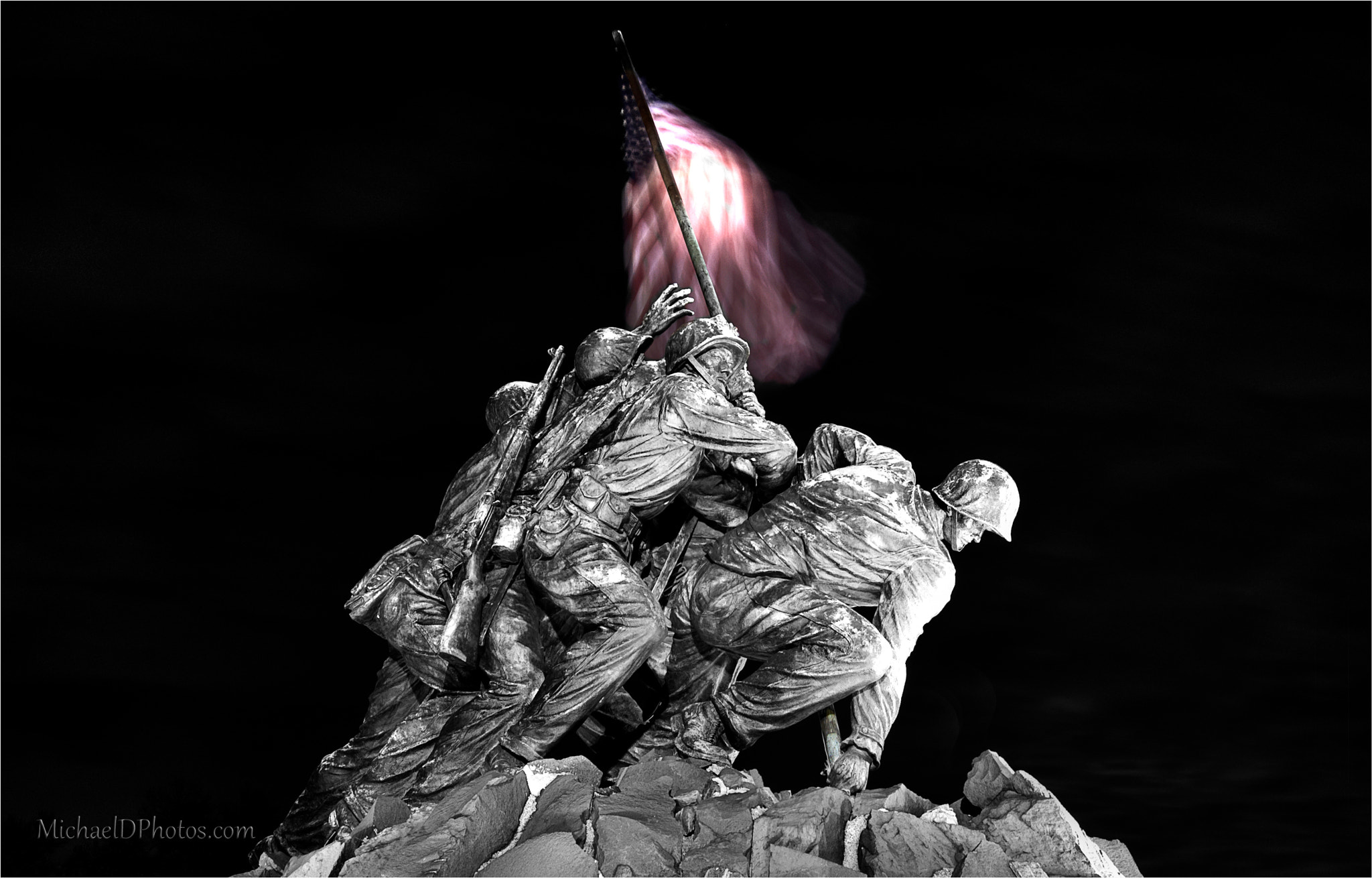 Photograph Iwo Jima Memorial by Michael Donahue on 500px
