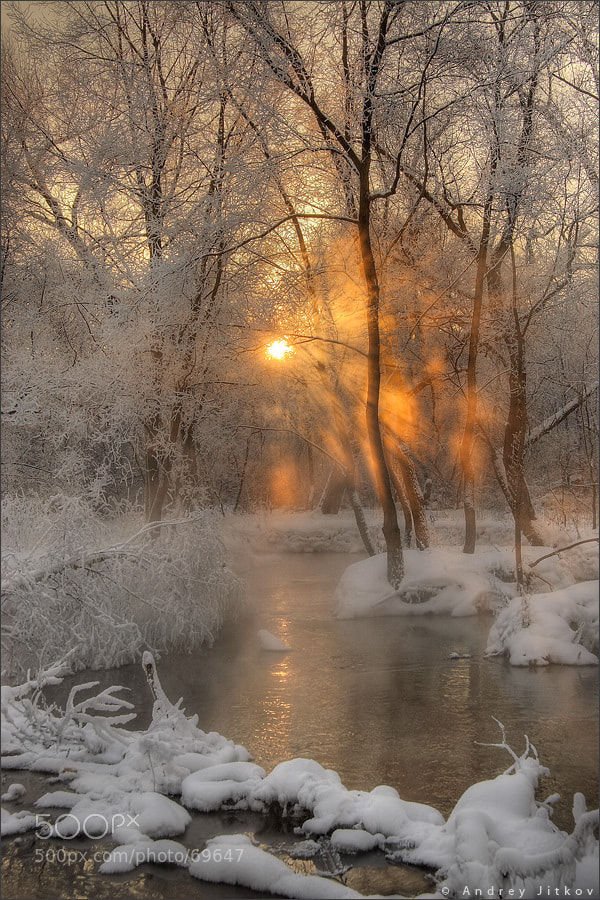 Photograph Cold sunrise by Andrey Jitkov on 500px