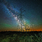 Постер, плакат: powering the milky way