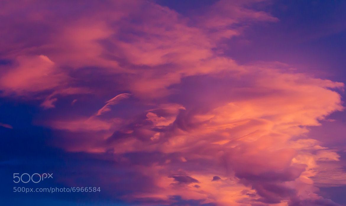 Photograph Fire in the Sky by Big JG on 500px