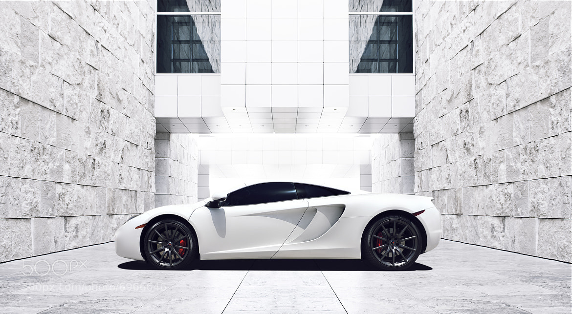 Photograph White MP4-12C by Ivan  Nava on 500px