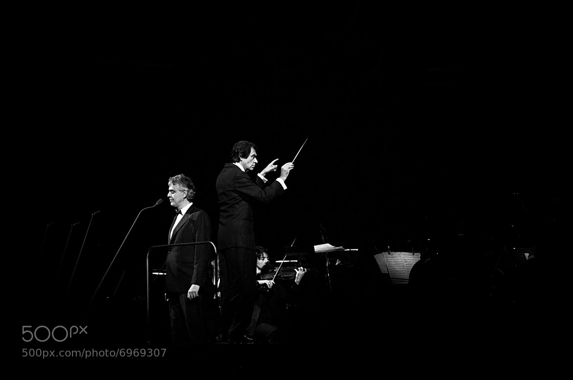 Photograph Andrea Bocelli and Marcello Rota by Valentina Sargsyan on 500px