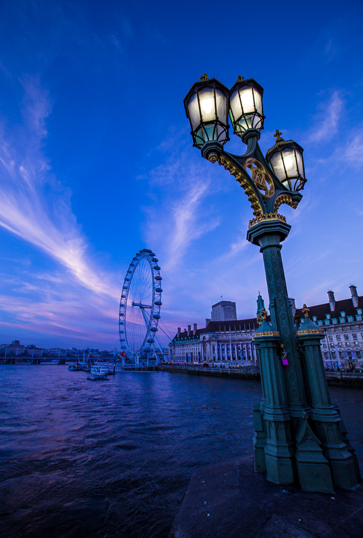 Photograph London Eye Waterfront I by Philipp Wedel on 500px