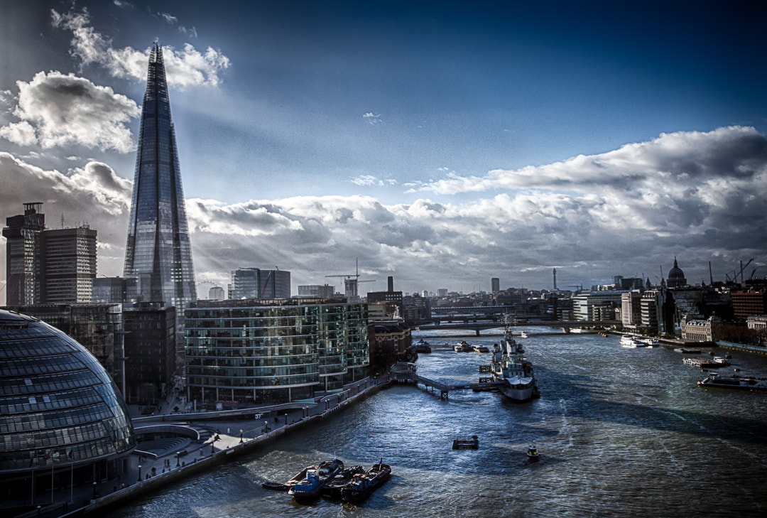Photograph View from the Tower Bridge by Philipp Wedel on 500px
