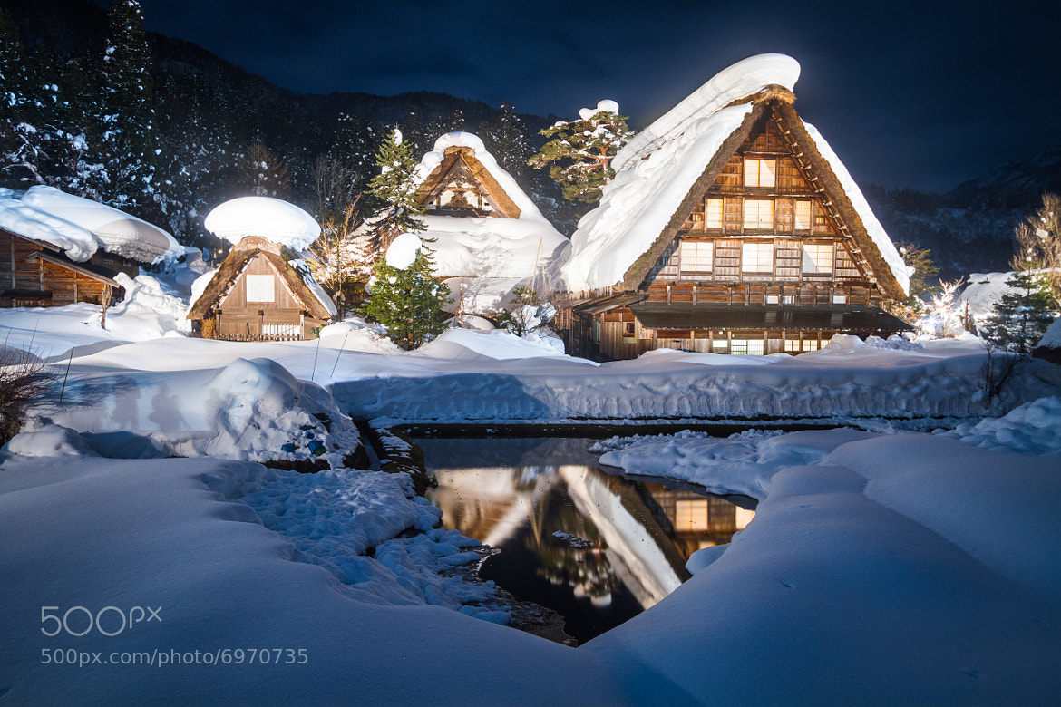 Photograph The Gassho Houses by Agustin Rafael Reyes on 500px