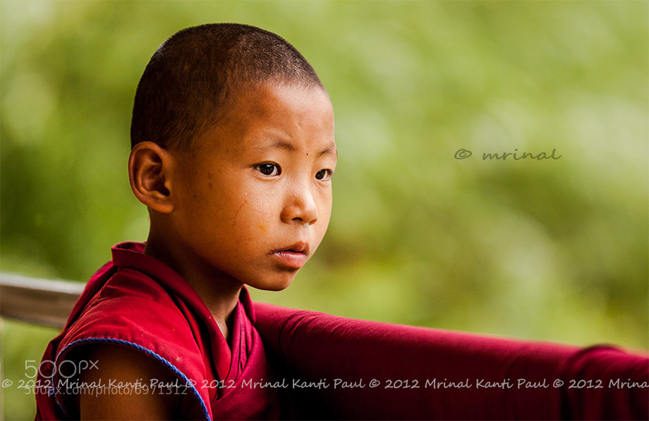 Photograph Monk-let by Mrinal Kanti Paul on 500px