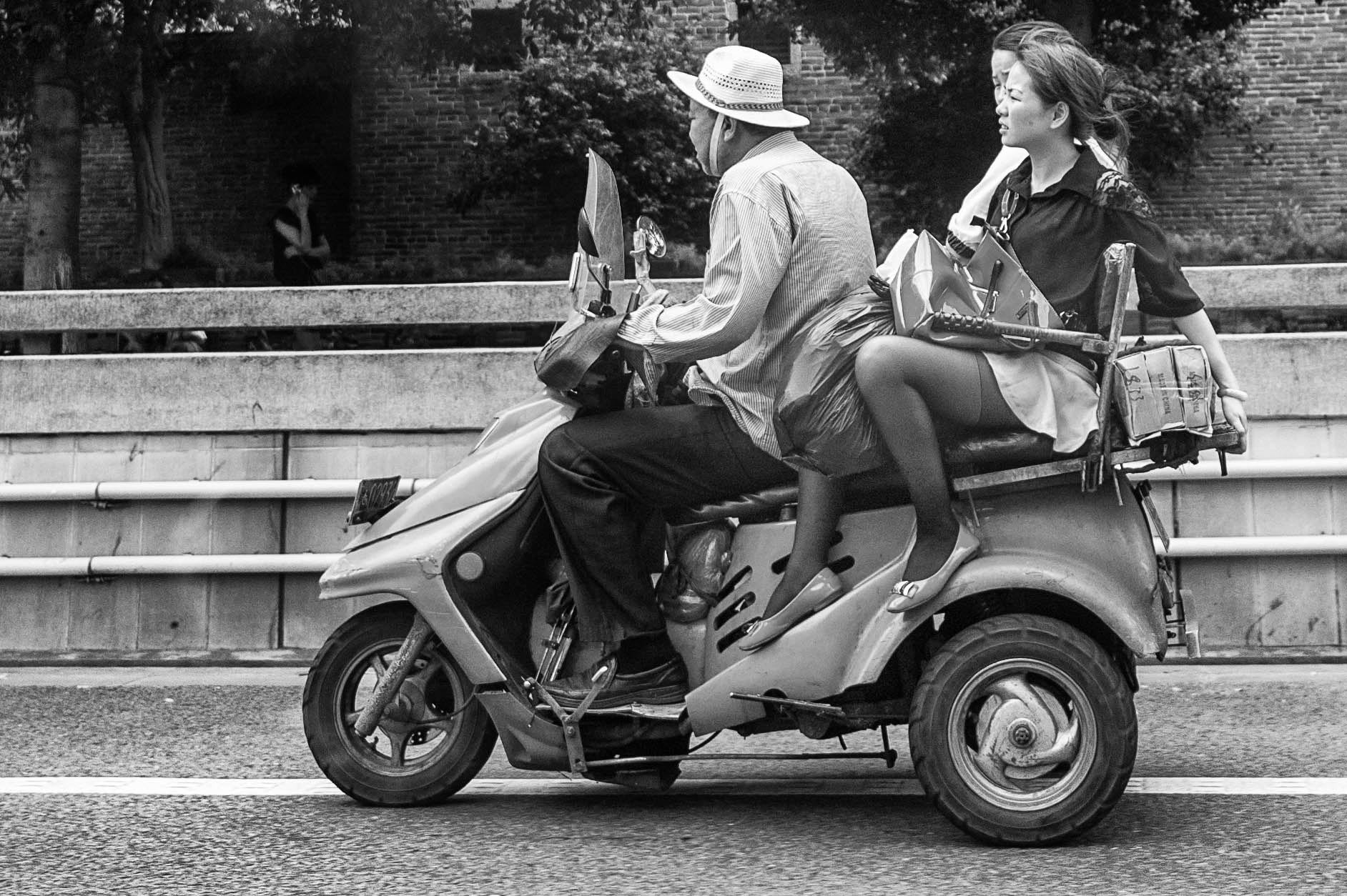 Photograph Scooter Taxi by Stephen Patterson on 500px