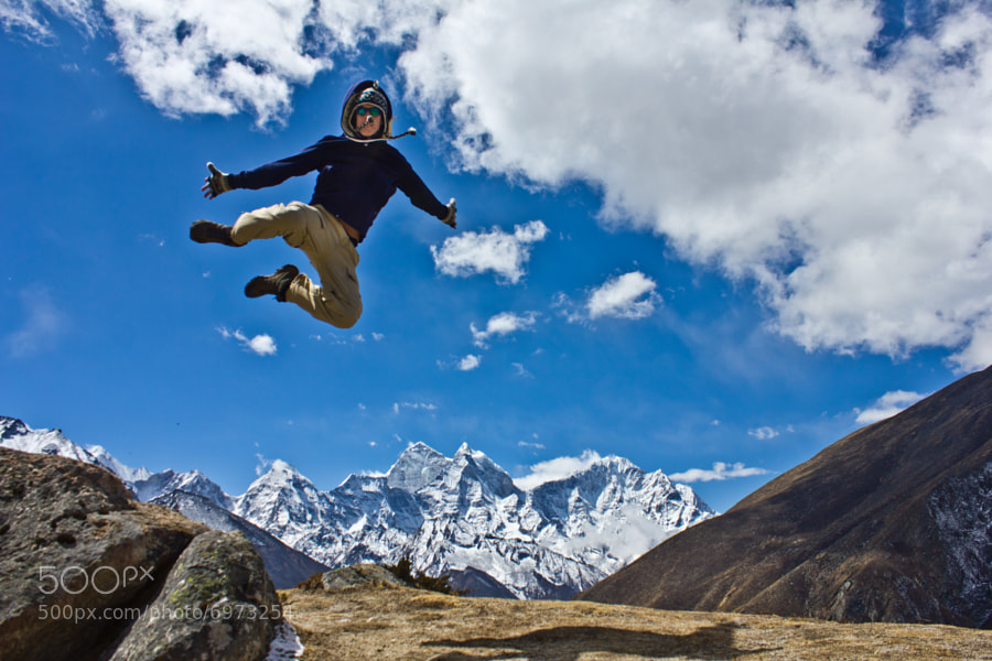 Photograph Highflying action in the Himalayas by Lauri Laukkanen on 500px