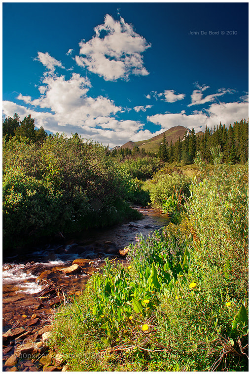 Photograph Indian Creek & Bald Mountain by John De Bord Photography on 500px
