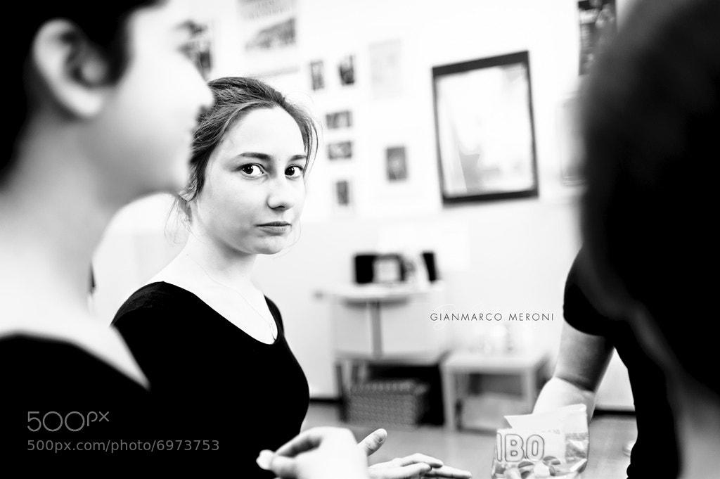 Photograph Ballerina's glimpse by Gianmarco Meroni on 500px