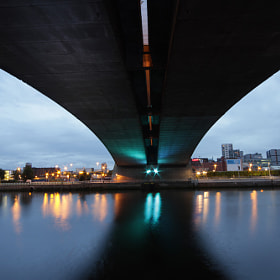 Under the Bridge by Stefan Bruett on 500px.com