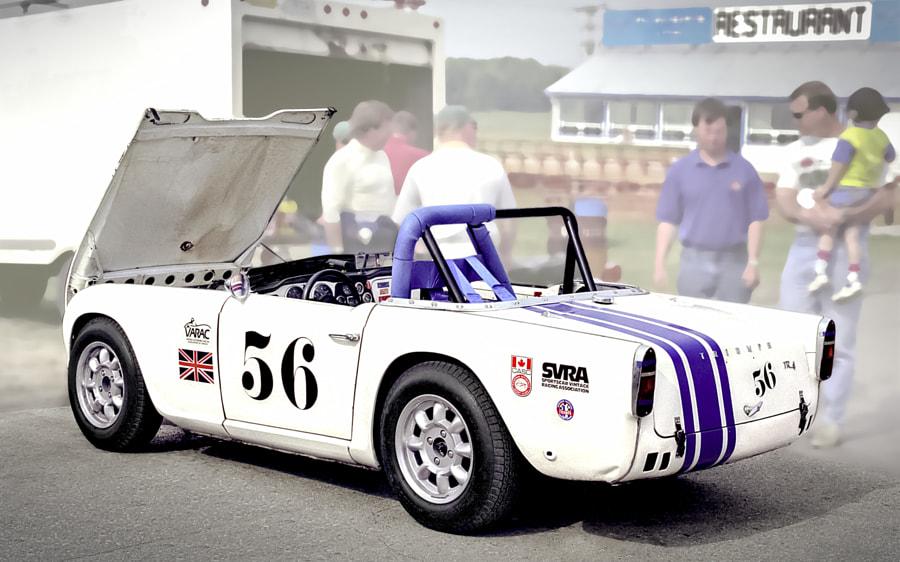 Triumph TR6 VARAC Racer