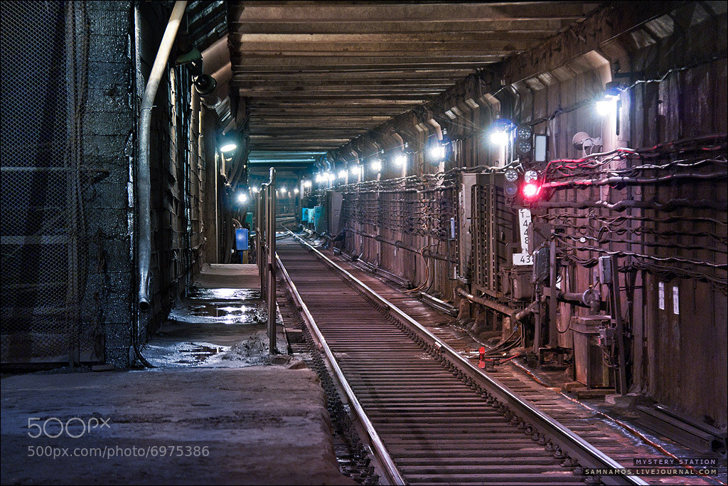 "Photograph Volokolamka - ""The legend station in Moscow sub""  by Sam Namos on 500px"