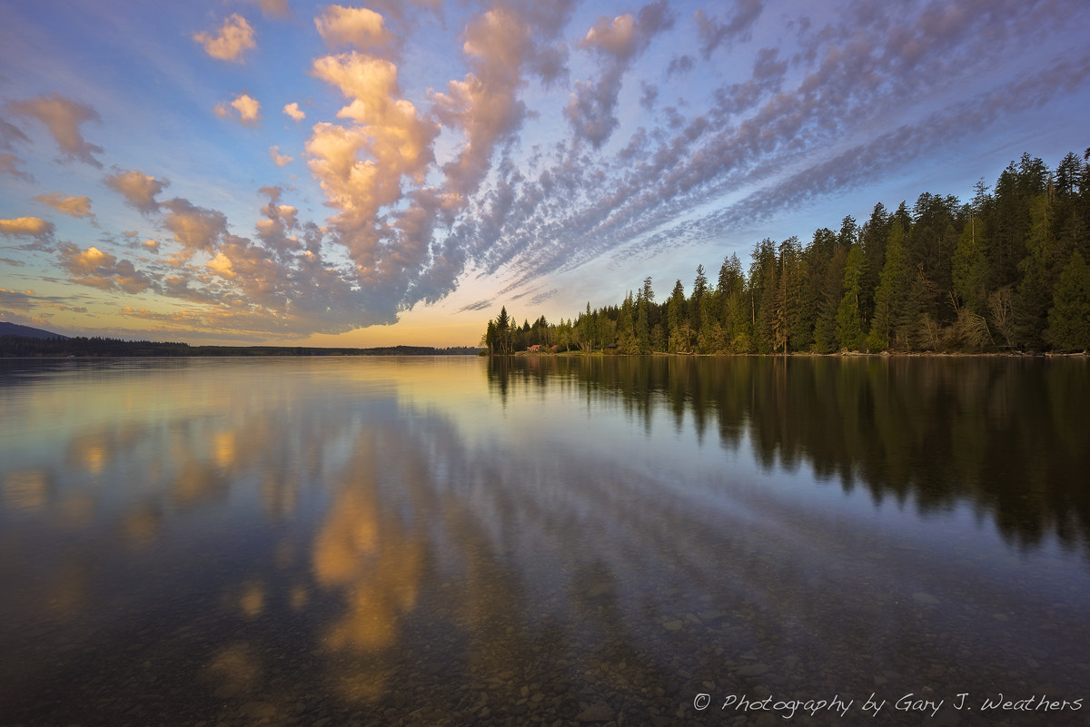 Photograph Sunrise at Lake Quinalt by Gary Weathers on 500px