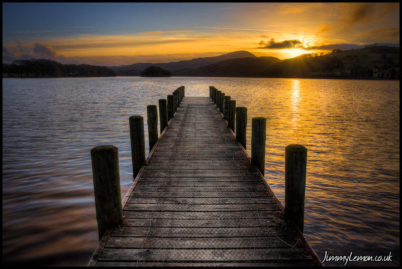 Photograph Rigg Wood Pier At Sunset II by Tom Holmes on 500px