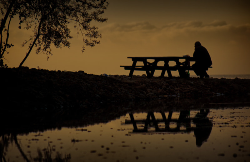 Photograph Lonely man by Seyhan Gungor on 500px