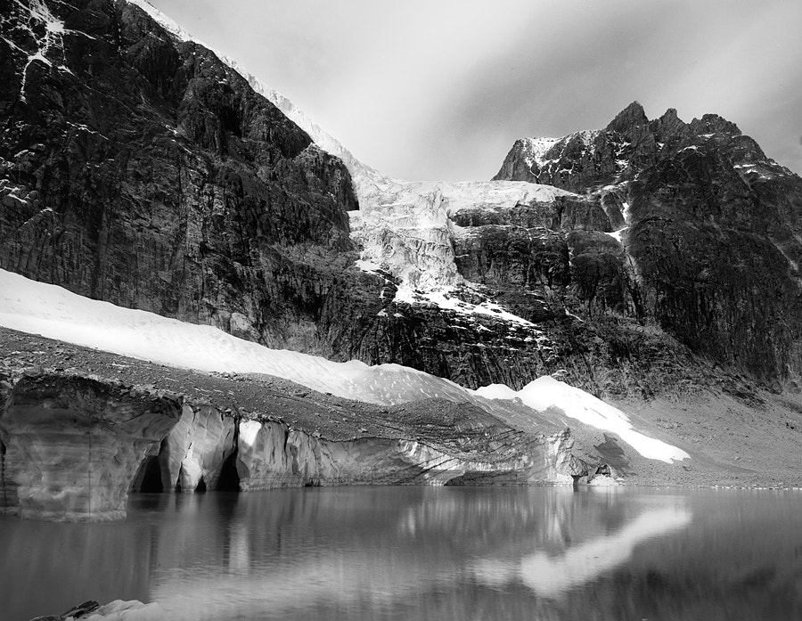 Photograph Cavell and Angel Glacier by Dan Skahan on 500px