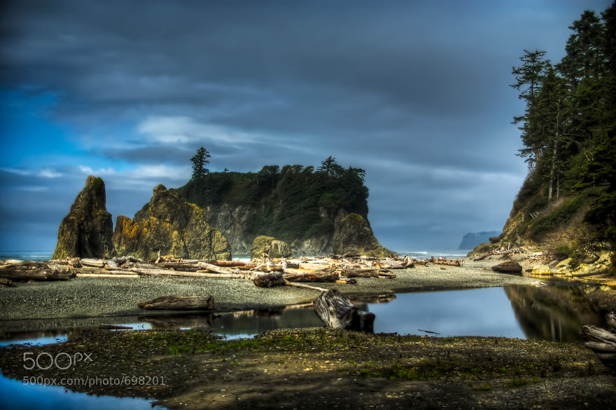 Photograph Large Seastacks at Ruby Beach by Brian Burt on 500px
