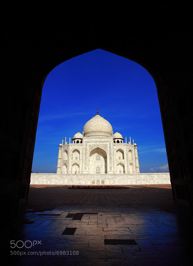 Photograph Taj Mahal by Woosra Kim on 500px