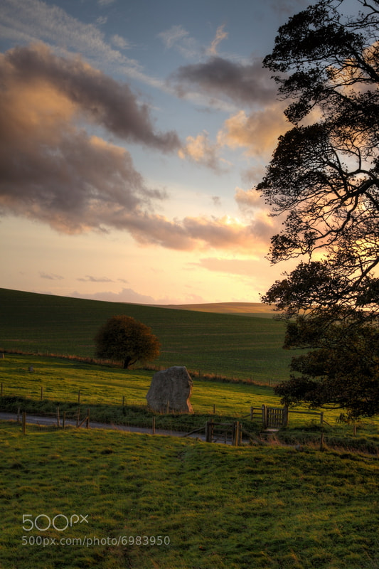 Photograph Avebury Sunset by Gary Barringer on 500px
