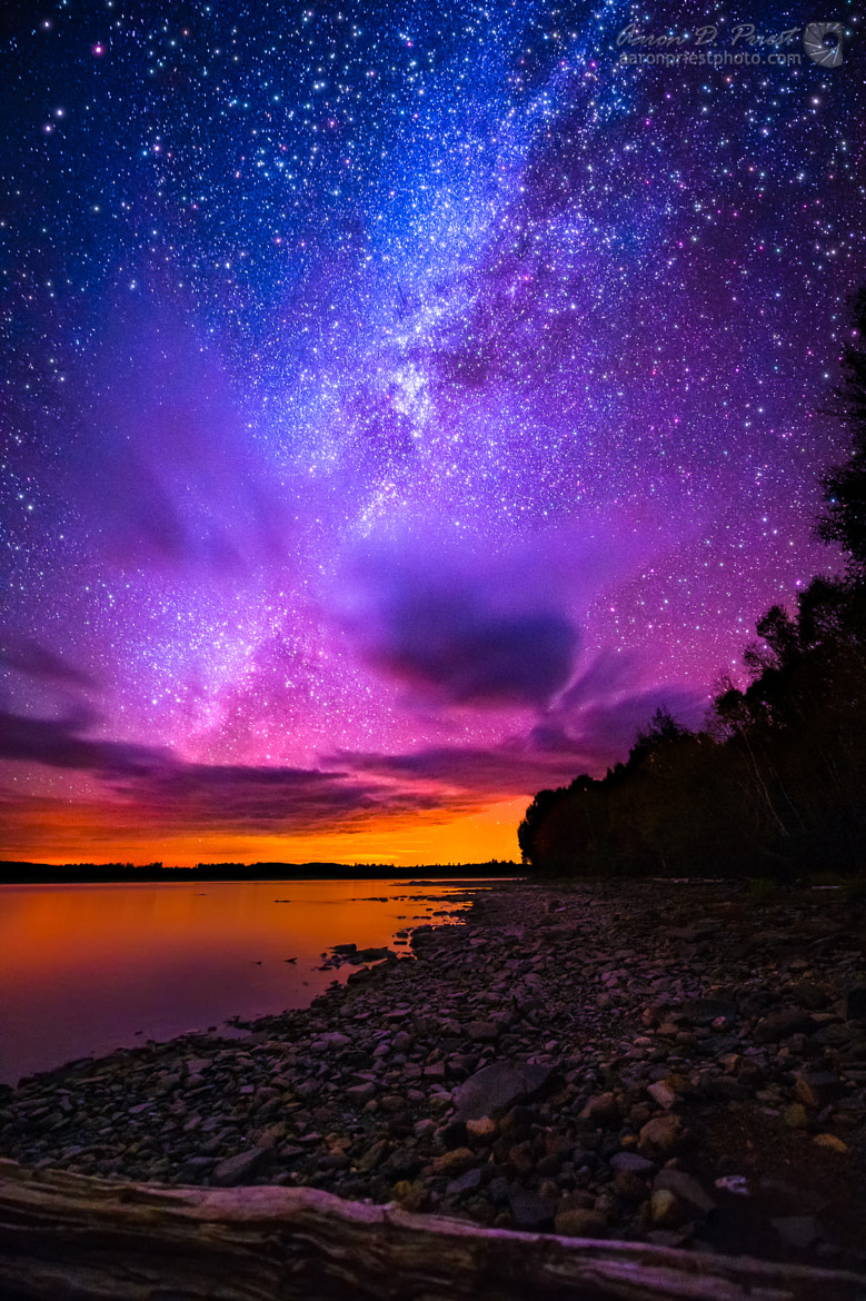 Milky Way over Spencer Bay, Moosehead Lake, Maine by Aaron ... - photo#39