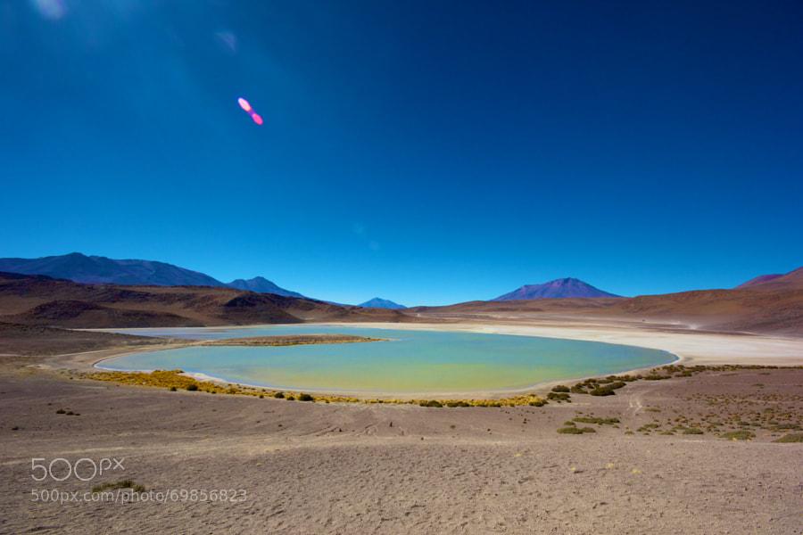 Located in the Eduardo Avaroa Andean Fauna National Reserve - Bolívia, Potosí District.
