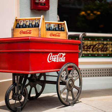 Coke Trolley