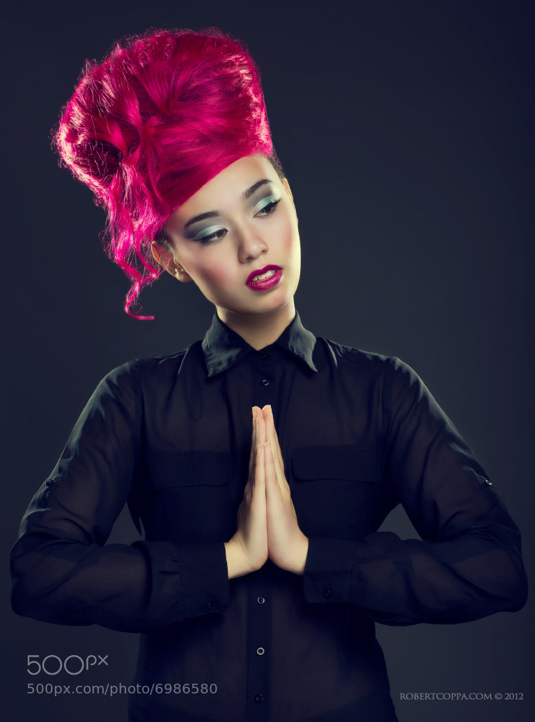 Photograph My hair is Pink ! by Robert Coppa on 500px