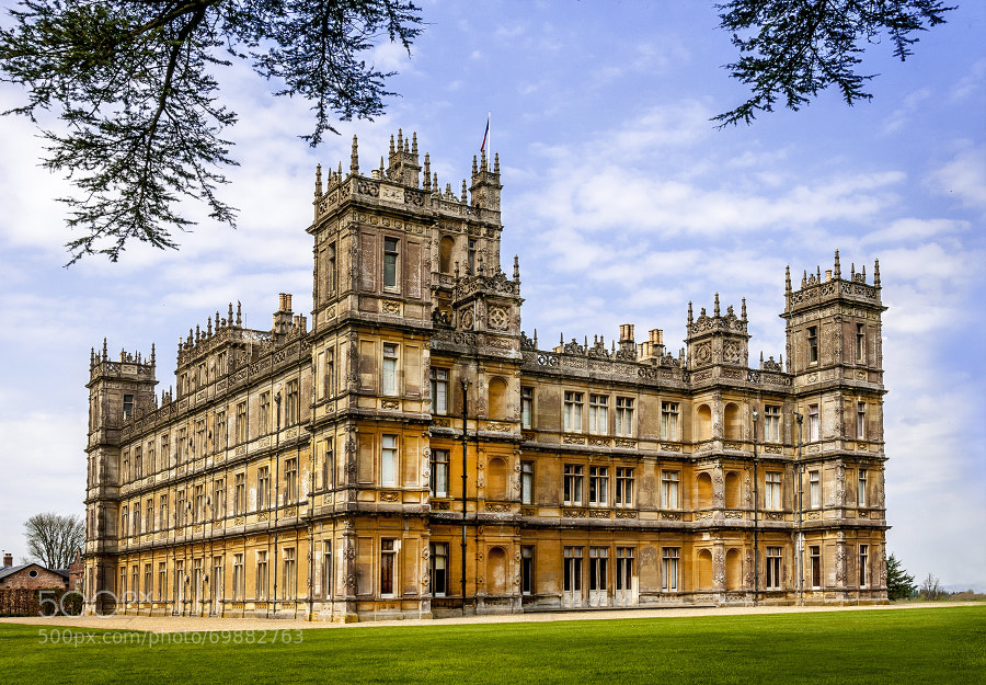 Photograph Highclere CastleWeb by Roy Edwards on 500px