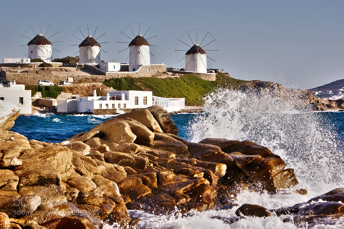 Photograph © Waves in Mykonos by Renzo Re on 500px