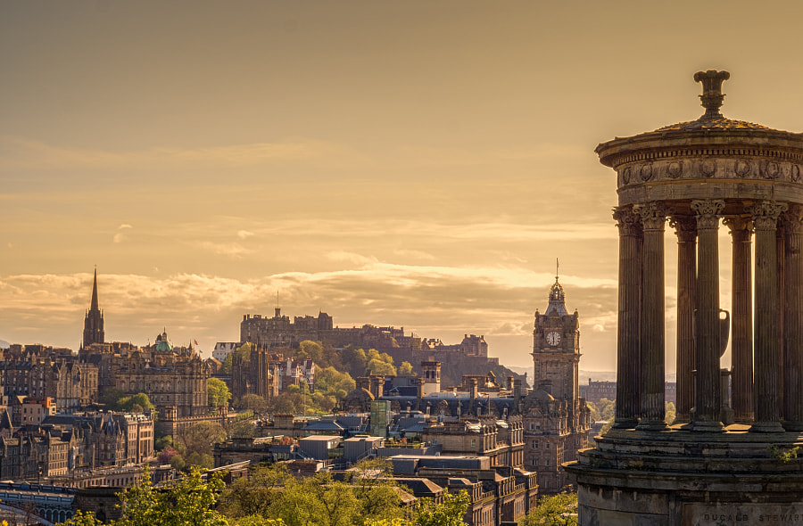 Calton hill by The Traveller on 500px.com
