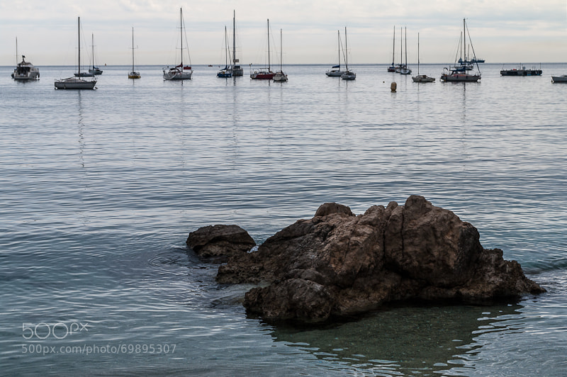 Villefrance sur Mer harbor by alessandroscremin