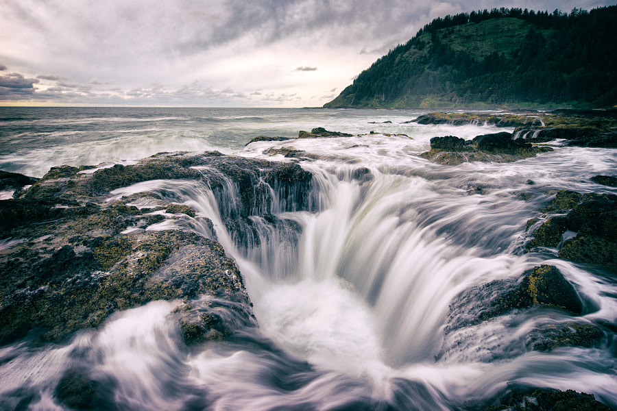 Photograph The Vortex of Thor's Well by Brian Matiash on 500px