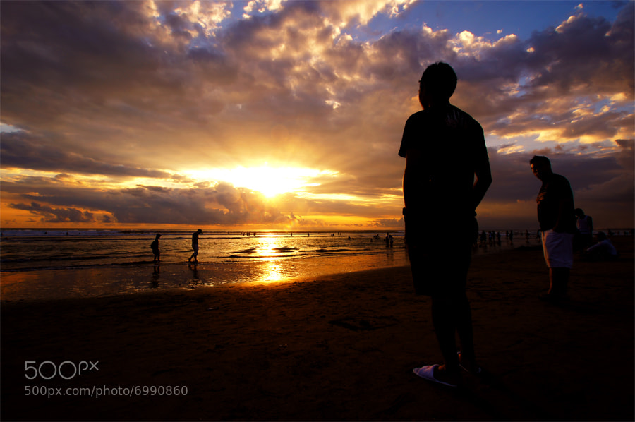 Photograph Watching Sunset by Arif Setiarjo on 500px