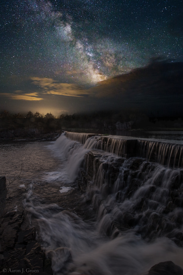 Waterfall Dreamscape by Aaron J. Groen on 500px.com