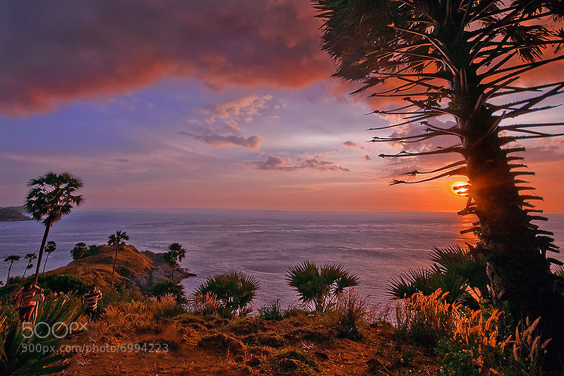 Photograph HDr Phuket sunset by Charungroj Bunphabuth on 500px