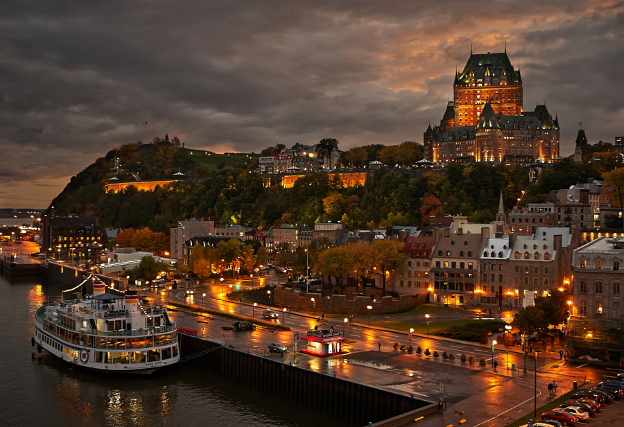 Quebec City - After the rain by Roman Marutov on 500px.com